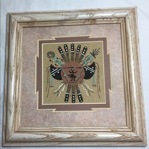 Other - Authentic Navajo Sand Painting Original Wall Art